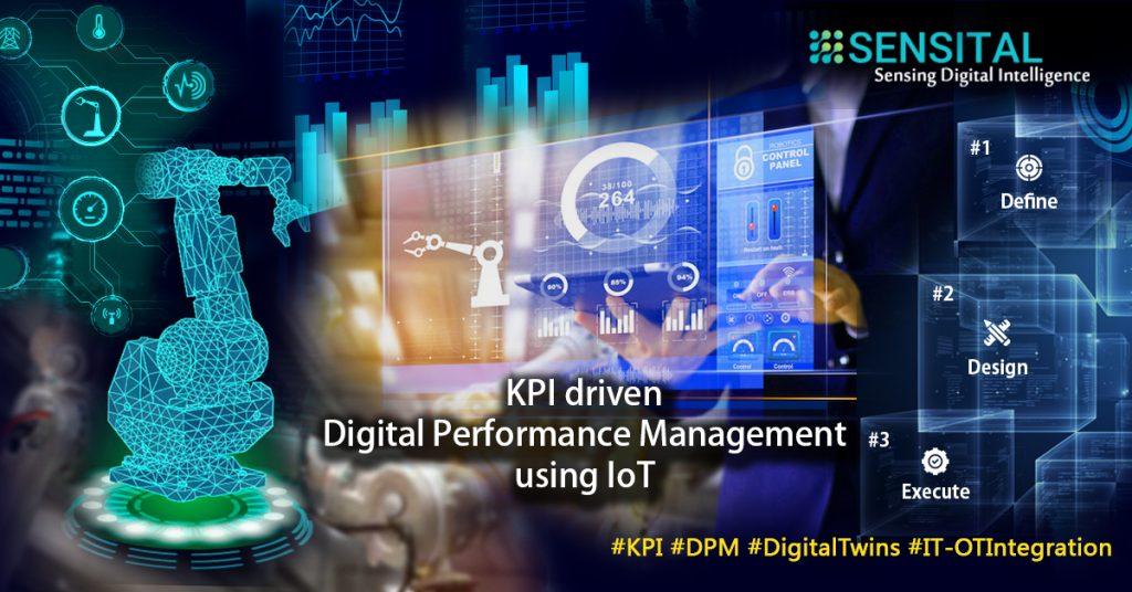 KPI driven Digital Performance Management using IoT